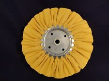AIRWAY BUFFING WHEELS YELLOW 8 ""