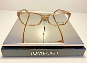 TOM FORD TF5230 FRAME COLOUR 024  SHINY LIGHT HAVANA 53MM-15MM