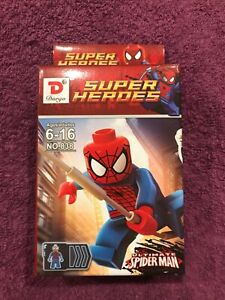 NEW SEALED Dargo Super Heroes Ultimate Spiderman (Mini figure no. 838)
