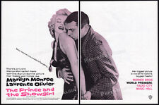 THE PRINCE AND THE SHOWGIRL__Orig. 1957 Trade AD__Premiere promo__MARILYN MONROE