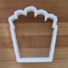French Fries Cookie Cutter Biscuit Pastry Fondant Stencil Chips