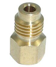 Vacuum Pump Adapter 1/2 Acme R134A Hose to 1/4 inch Service Port Vacuum Pump