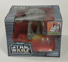 Vintage 1996 Micro Machines Star Wars Action Fleet Imperial AT-AT Toy #02