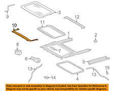 MERCEDES OEM 98-03 ML320-Sunroof Wind Air Deflector 1637800044