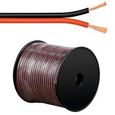 100m Lautsprecherkabel 2 x 1,5 mm² Hifi Audiokabel Boxenkabel 2x1,5mm² R/S