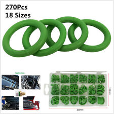 270Pcs 18 Size A/C Rubber O-Ring Assortment Gasket Seal Washer Rapid Seal Repair