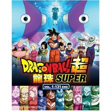 DVD Anime DRAGON BALL SUPER Complete Series (1-131 End) 12 DVD English Dub*&Sub