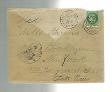 1940 France Concentration Internment Camp de Gurs Cover to USA Willi Ahrens