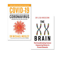 The XX Brain  & What you need to Know about the  2 Books Collection Set PB NEW