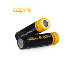 TWIN PACK Authentic ASPIRE® 1800 mAh 18650 VAPE TORCH Rechargeable Battery