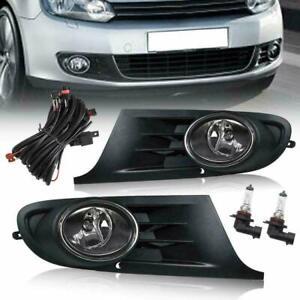 VLAND Fog Lights For 2008-2013 Volkswagen VW Golf 6 MK6 VI Jetta Fog Light Pair