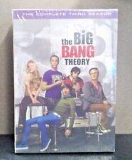 The Big Bang Theory: Complete Seasons 1,2, & 3    (DVD)   BRAND NEW
