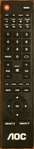 Original New AOC NH400UD TV Remote Control for AOC HDTVs LE32W234D