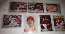 SHOHEI OHTANI, ANGELS, 6 DIFFERENT RCs++ONE INSERT W/RUTH==YOU GET ALL
