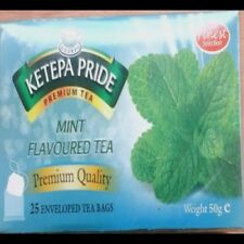 Flavoured tea,  Mint Flavoured Tea bags- 14 available
