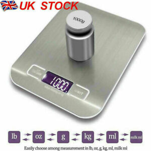 Digital LCD 1g-10kg Kitchen Electronic Balance Scale Food Weight Postal Scales