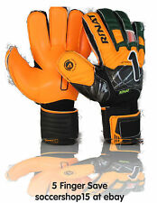 Rinat goalkeeper gloves(green/orange size 7) Supreme 2.0 replica 5 finger save