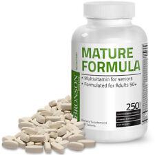 Bronson Mature Formula Multivitamin for Seniors, 250 Tablets