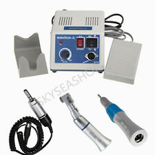 Dental Lab Marathon Micromotor Drill Polisher N3 & Low Speed Handpiece Kit