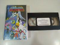 Los Caballeros del Zodiaco El Guerrero de Armageddon - VHS Cinta Tape Español