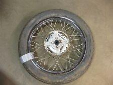 """1982 yamaha rx 50 special ysr y374~ rear wheel rim 16"""" w sprocket"""