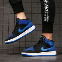 Men's New Classic Air 1 Flyknit Sneakers Running Sports Athletic Shoes High Top
