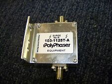 Poly Phraser Surge  24 Volt DC Coaxial Protection 3 AMPS # 103-1125T-A