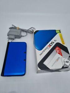 Nintendo 3DS XL Console Portable Bleu + Chargeur + SD 4go BE