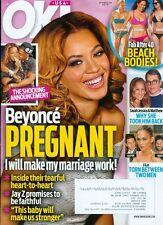 2014 OK Magazine: Beyonce & Jay Z Pregnant/Sarah Jessica Parker & Matthew/J.Lo