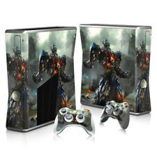 Xbox 360 Slim - Sticker Set Protective Skin Console & Controllers - 3061