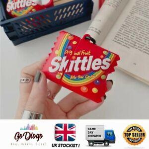 Novelty Skittles Case For Apple Airpod 1/2  UK STOCKIST SELLER FREE P+P