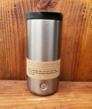 Starbucks Holiday 2018 Grey Silver  Stainless Steel Tumbler 12oz