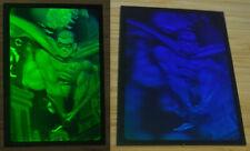 1995 Fleer Metal Batman Forever Green Dark Blue Hologram Robin H4
