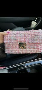 Carvela Pink Fabric Bag Worn Twice RRP - £79 Excellent Condition!