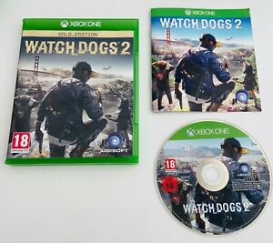 Watch Dogs 2 GOLD EDITION - Microsoft Xbox One Watchdogs Video Game
