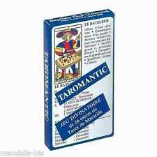 TAROMANTIC - Jeu Divinatoire 26 Cartes + Livret (Tarot)