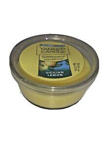 New Yankee Candle Scenterpiece Easy Meltcup Sicilian Lemon 2.2 oz. New