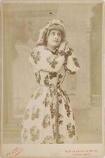 Mlle Gélabert, Actrice Théâtre, Photo Cabinet card, Nadar