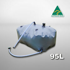 Water bladder tank 95L for Mitsubishi Pajeros' 3rd row seat well - DW95BMP