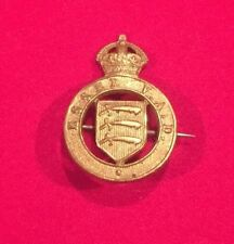 RARE WW1 ESSEX VAD - VOLUNTARY AID DETACHMENT - NURSE'S BADGE - 100% ORIGINAL!