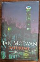 IAN McEWAN Saturday 9/11 fiction 1st edition hardback book London Jonathan Cape