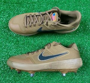 Nike Alpha Huarache Elite 2 Low Army Baseball Cleats Brown (SZ) CI2226-900