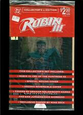 Robin III Cry Of The Huntress # 2 Collector's Set (DC, 1993, sealed)