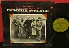 CHARLES STROUS Bonnie And Clyde WARNER BROTHERS LP SIS OST w Dialouge