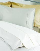 450Thread Count Pima Cotton Emperor Bed Size Duvet Cover in White 290cm x 235cm