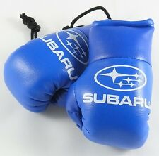 Subaru Blue Mini Boxing Gloves