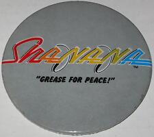 """Sha Na Na """"Grease for Peace"""" 3.5"""" Pin"""