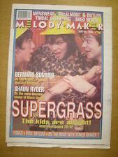 MELODY MAKER 1995 MAY 20 SUPERGRASS JOY DIVISION SHED 7