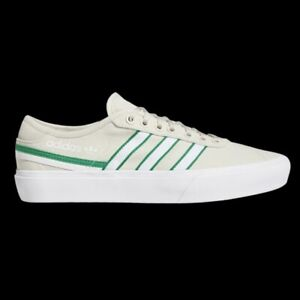 Adidas Delpala Stakeboard Men's Athletic Sneakers Tan Skate Canvas Casual Shoe