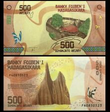 MADAGASCAR 500 Ariary, 2017, P-99, Butterfly, UNC World Currency